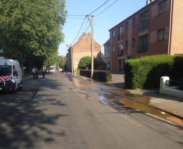 Rupture d'une canalisation à Nivelles : situation sous contrôle