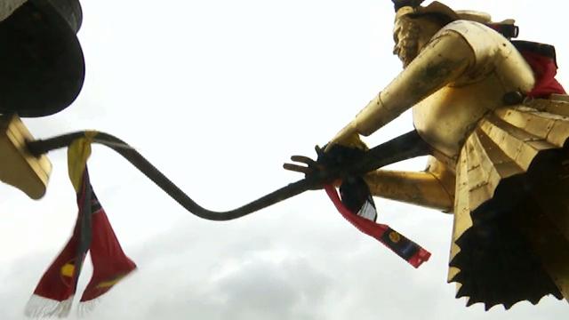 Mondial : Djan Djan de Nivelles se pare de noir-jaune-rouge!