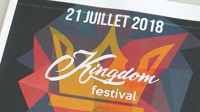 Affiche 100% belge et produits locaux au Kingdom Festival