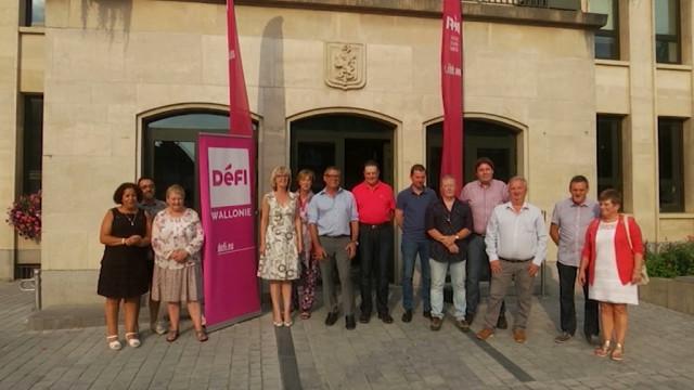 Défi vise quatre sièges au conseil communal de Nivelles