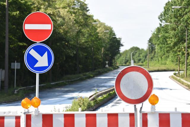 Une voie de la N25 fermée à la circulation à Court-St-Etienne