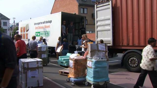 testDe Rixensart jusqu'en RDC : Destination Congo a envoyé son 26ème conteneur