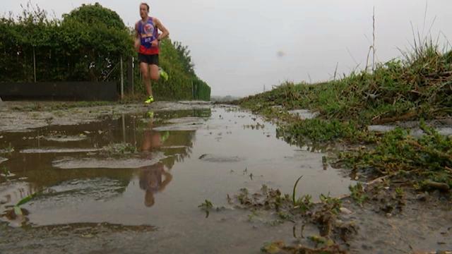 Jogging de la ville d'Ottignies-LLN : Elle se trompe de chemin ... et gagne !