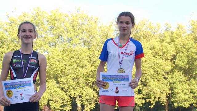 Une jeune athlète du CABW s'est illustrée sur le critérium des jeunes