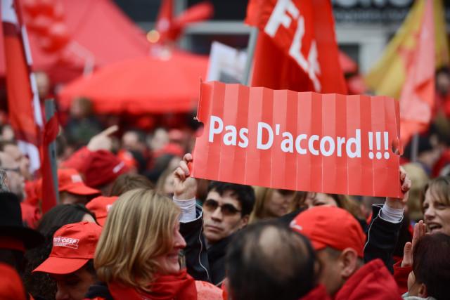 Manifestation nationale ce mardi : Stib et TEC perturbés mais pas la SNCB