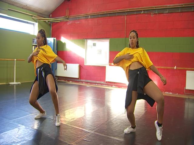 Geraldine et Andrea Tshibuabua, la passion de la danse