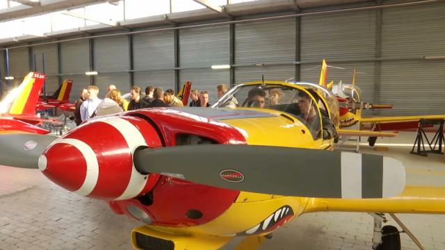 testLes futurs pilotes de F-35 à Beauvechain !