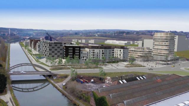 """Le """"Quartier des Confluents"""" sur le site des anciennes Forges de Clabecq soumis à enquête publique"""