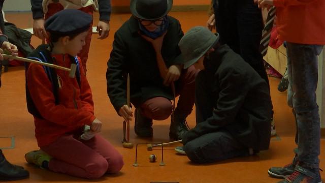 Les élèves de l'école Martin V ont joué sans frontières