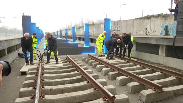 Les travaux de la ligne 124 du RER reprennent à Braine-l'Alleud