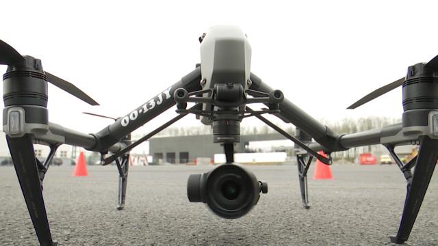 testNivelles: ID2Move, le premier centre d'expertise sur les drones en Wallonie