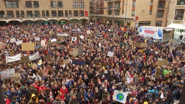 Louvain-la-Neuve : 3300 manifestants à la Global Climate Strike