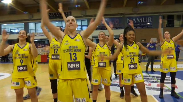 Le Mithra Castors Braine remporte son 4ème titre de Belgique