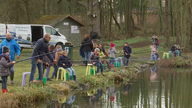 Journées de l'eau: initiation à la pêche pour les écoles