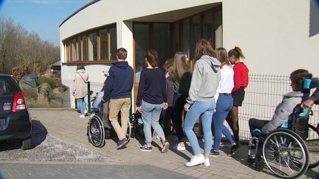 A LLN, des jeunes du Lycée Martin V s'engagent pour l'Escalpade