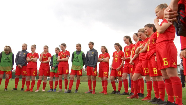 Football : la Belgique et l'Angleterre s'affrontent à Lasne-Ohain