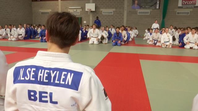 Une médaillée olympique au stage de judo de Cédric Taymans