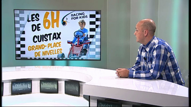 L'invité : Michael Jacquemin - Responsable de l'asbl Racing for kids - 6h de Nivelles en cuistax