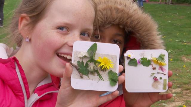 GoodPlanet Belgium emmène les enfants au contact de la nature