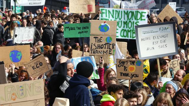testLes enseignants de Braine-l'Alleud mobilisent les élèves pour le climat ce jeudi