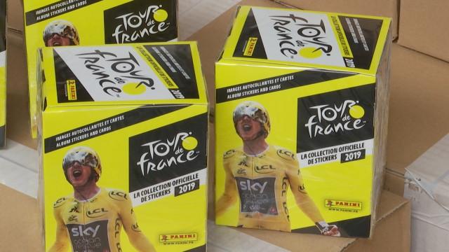 Panini sort pour la première fois un album du Tour de France