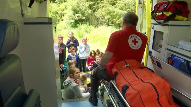 Braine-l'Alleud : 510 enfants découvrent la Croix Rouge