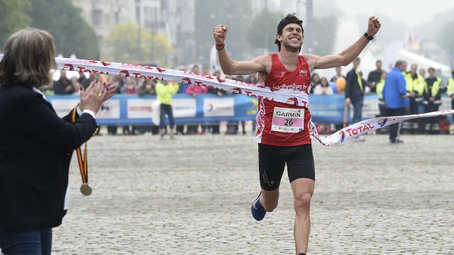 Deux coureurs du Brabant wallon s'adjugent la victoire aux 20 km de Bruxelles