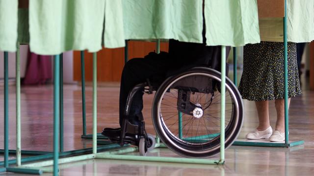#BW2019 : les PMR aussi ont le droit d'aller voter dans un isoloir