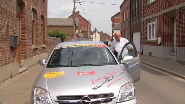 Un taxi solidaire à Hélécine