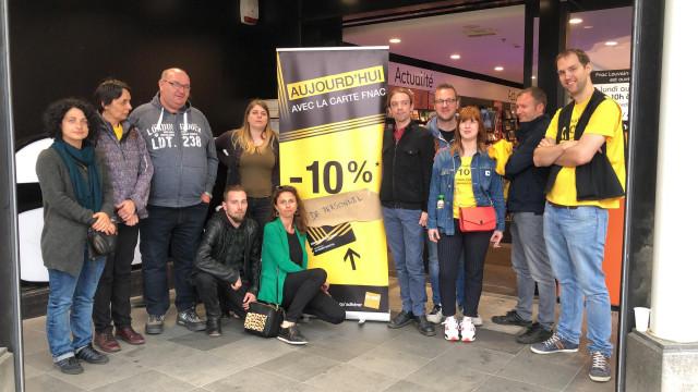 Grève à la FNAC : les magasins de Louvain-la-Neuve et Liège débraient