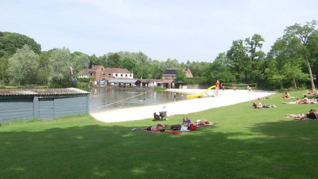 testRenipont-plage, la seule piscine naturelle à ciel ouvert dans le Brabant wallon