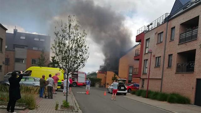 testIncendie à Louvain-la-Neuve : une crèche évacuée