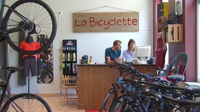 La Bicyclette, un nouveau magasin de vélo installé à Bousval