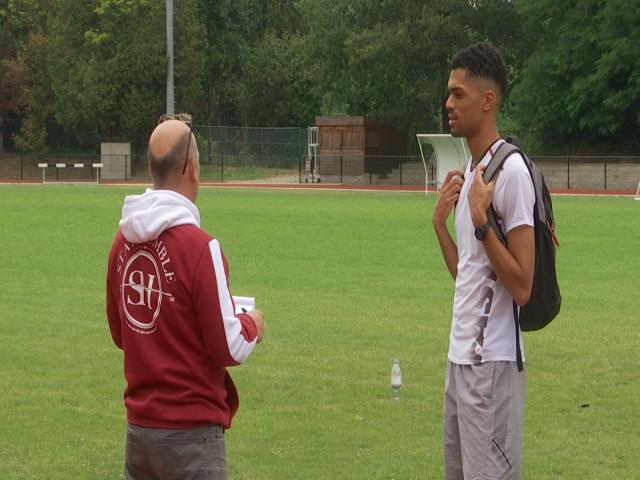 Athlétisme: Lionel Halleux aux championnats d'Europe des moins de 20 ans