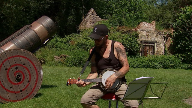Suivez le musicien 1 : Piwi Leman au Moulin Fantôme de Tubize