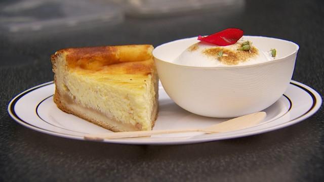 Le chef Curtis Mulpas revisite la tarte au Stofé pour convaincre les restaurants