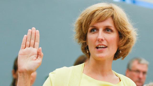 La Stéphanoise Céline Tellier chargée de l'environnement au sein du gouvernement wallon