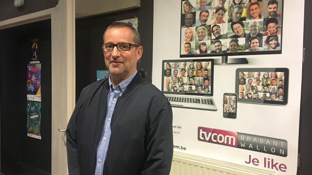 TV Com a un nouveau Président  : le Wavrien Stéphane Crusnière