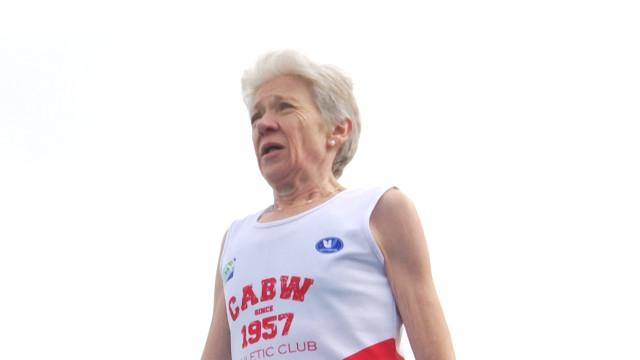 Léa Walravens, reine de la piste à 66 ans