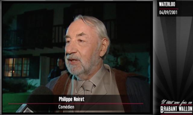 #35 WATERLOO - Tournage d'un film avec Philippe Noiret