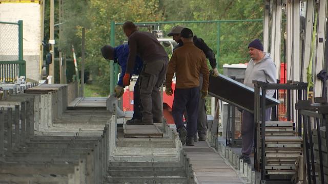 Derniers préparatifs pour le match des Red Lions à Wavre