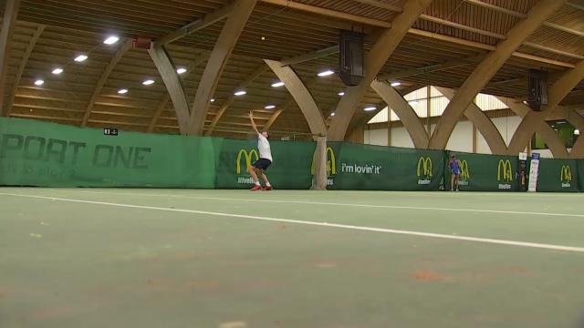 testLes jeunes talents du tennis réunis au Volvo Young Stars Challenge à Nivelles