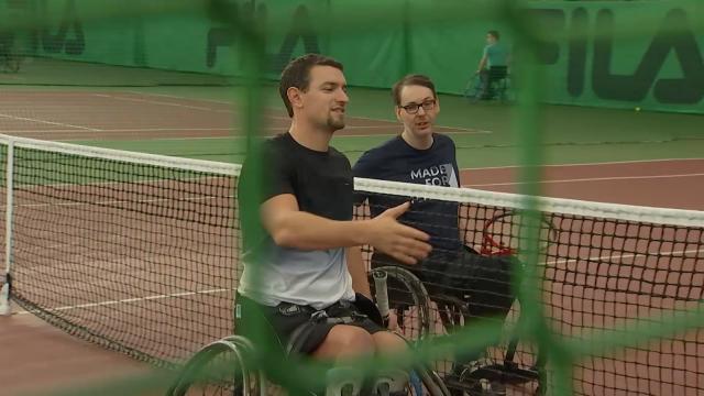 test14e titre national pour le tennisman en chaise Joachim Gérard