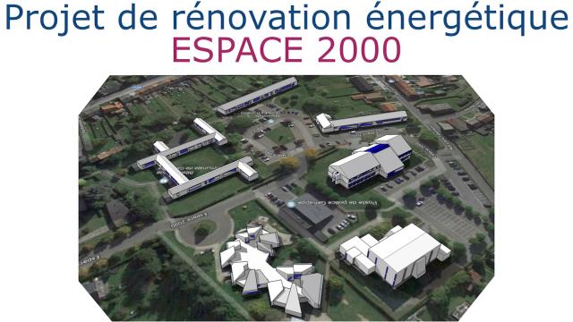 L'Espace 2000 de Genappe transformé en smart city