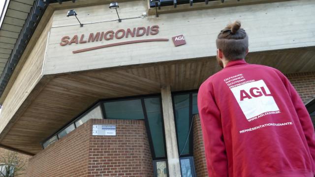 La Salmigondis réaffectée à un usage académique: 2000 étudiants disent non