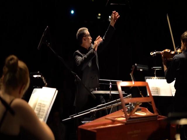 Les jeunes talents de Young Belgian Strings à l'église de Céroux le 22 décembre