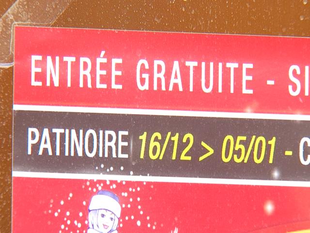 La Féérie Stéphanoise en plein montage : la patinoire prête lundi