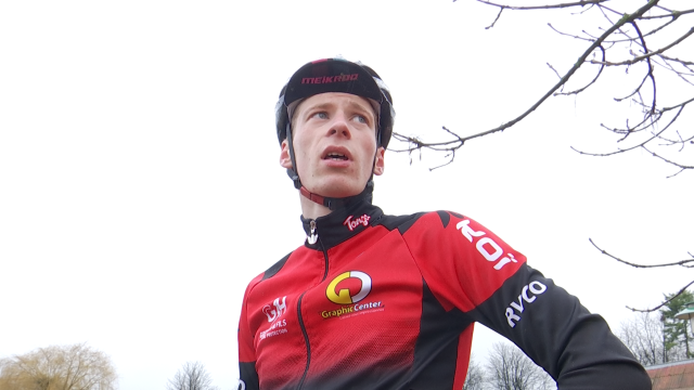 Grégory Carême, l'espoir chaumontois du cyclo-cross aux championnats de Belgique