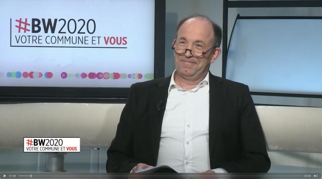 testVotre commune et vous : Pascal Goergen (Président - DéFi Wallonie)