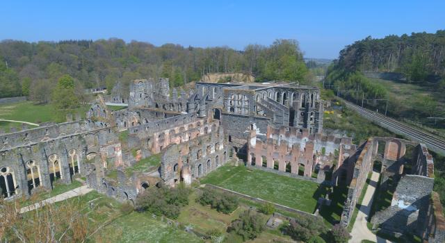testCoronavirus : plus de 100.000€ de recettes non perçues pour l'Abbaye de Villers-la-Ville